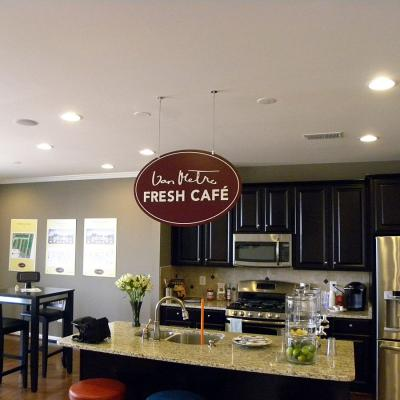 Van Metre Homes Fresh Cafe